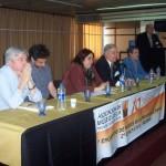 001 - Panel inicio. Romeau, Rios, González, De Lorenzi, Rayón y Zaeta.