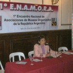 003. Disertante Susana B. Vizcarra.