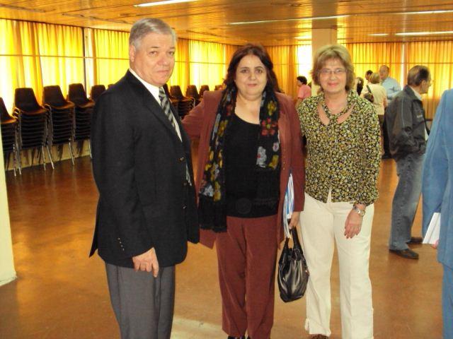 005 - Ministra Dra. González, con De Lorenzi y Nazor.