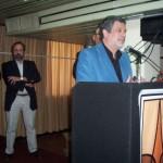 007 - Agradece Julio César Rayón su distinción por parte de ADiMRA por su aporte a la Cultura Nacional.