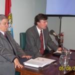 Fernando Almada. Intendente de El Trébol.