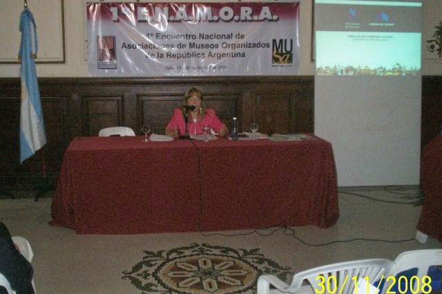 015 - Disertante Mercedes Aguirre.