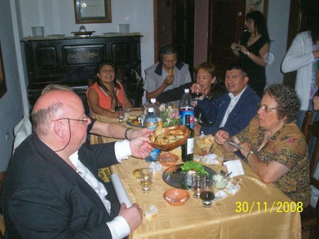 025 - Cena de confraternidad