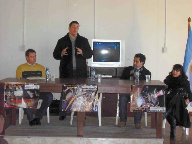 2009-06-13 – REUNION REGIONAL. NORTE B.  Fontanesi, Marelli, Fabricius y Muñoz. Gdor. Crespo.
