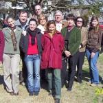 2007-09-01.  EL TREBOL. Curso de archivista. Participantes y docente Estela Pagani.