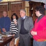 2007-08-04. REGIONAL CENTRO A. LAS ROSAS. Curso Escuela-Museo. Cierre: Ponisio, M. Berón, De Lorenzi y Fabricius.