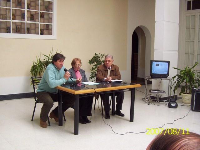 2007-08-11. REUNION REGIONAL CENTRO A. SAN VICENTE. Gustavo Welschen (Pte. Comunal); E. de Welsechen y De Lorenzi.