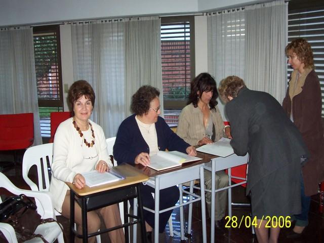 2007-04-28. ASAMBLEA EL TREBOL. Registraciones.