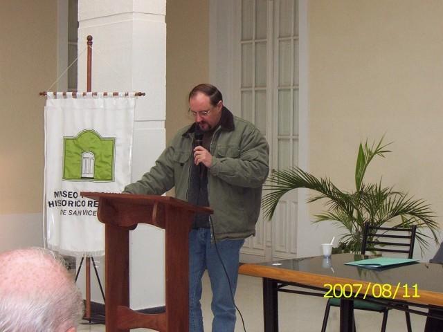 2007-08-11. REUNION REGIONAL CENTRO A. SAN VICENTE. Dr. Hugo Giovannini.