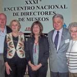 2007-09-07. XXXI ENCUENTRO DE ADIMRA. CATAMARCA. Zaeta, Salusso, Nazor, De Lorenzi y Banchio.