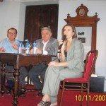 "2007-11-10. REUNIÓN REGIONAL CENTRO ""B"" EN SAN CARLOS CENTRO.  Haiek, De Lorenzi y Savino."