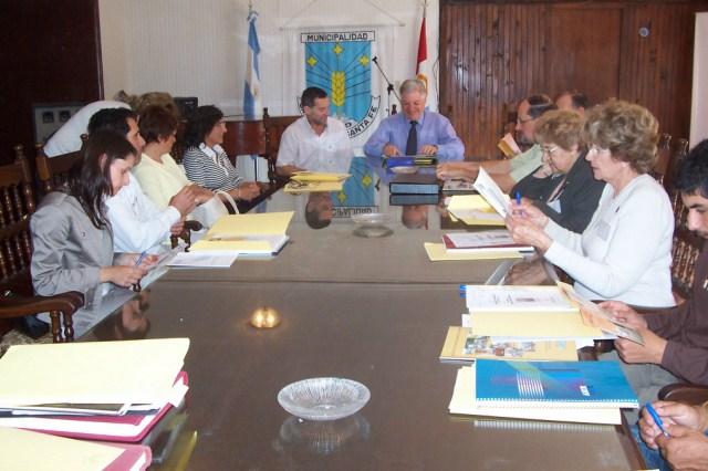 2008-09-27 - Reunión de Consejo Directivo en San Justo.