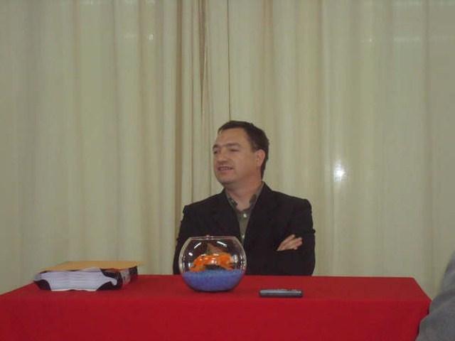 2008-10-04 - Reg. Norte B. Disertante Diego Fontanesi. Malabrigo.