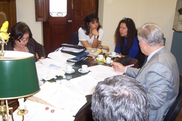 2008-10.01. Reunión Mtra. Gónzalez. Santa Fe