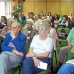 2008.04.26 - ASAMBLEA 8º EJERCICIO. Un sector de Asistentes. El Trébol.