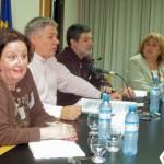 2008.04.26 -  ASAMBLEA 8º EJERCICIO.  Mesa Spinelli, De Lorenzi, Rayón y Viglianco. El Trébol.