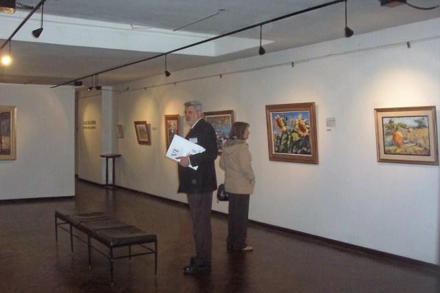 2010-10-15 - DISERTACIÓN SOBRE LA ASOCIACION EN R. CUARTO. Visita M. de B. Artes.