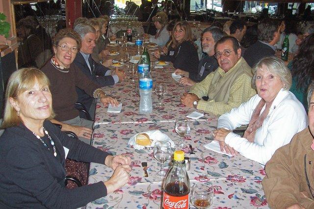 2010-04-10 - ASAMBLEA. ALMUERZO DE CAMARADERIA. El Trébol