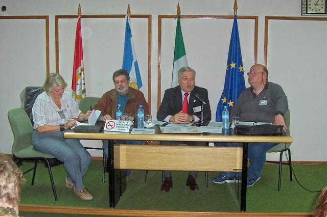 2009.04.25 - R. CONSEJO. Salusso, Rayón, De Lorenzi y Zaeta. El Trébol
