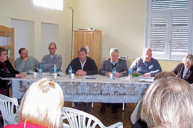 2008-09.06 – Reunión Regional Centro A.  Serdarevich, Giovannini, Ostojic, Davalle (Pte. Comunal),  De Lorenzi, Zaeta y Salusso. Carlos Pellegrini.
