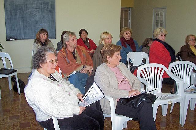 2008-09.06 – Reunión Regional Centro A.  Participantes. Carlos Pellegrini.