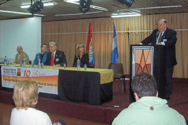 001- Inicio del Encuentro. D Amelio, Rayón, De Lorenzi, Balestra y Zaeta.