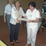 013 - Entrega de distinción a Jorgelina Piccato.