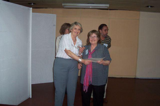 015- Entrega de distinción a María del Carmen Graziottin