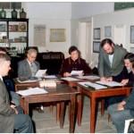 2003-08-28 - Acuerdo de El Trébol. De Lorenzi, Rosso, Avarucci, Arena, Guelbert, Vairo, Rayón y Elicetche.