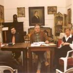 1999-05-14. REUNION PREPARATORIA DE LA ASAMBLEA CONSTITUTIVA. EL TREBOL. Rayón, De Lorenzi y Baratti (frente) y Genovese (espalda)