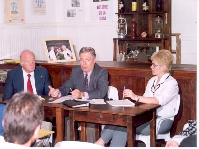 1999-09-24. CONSTITUCION ASOCIACION. EL TREBOL. Astegiano, De Lorenzi y Nazor