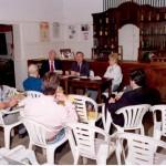 1999-09-24. CONSTITUCION ASOCIACION. EL TREBOL. Frente Astegiano, De Lorenzi y Nazor. Espalda Leonardi, Buratovich, Genovese, Avarucci y Rayón