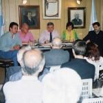 2000-10-27 - REUNIÓN CONSEJO AREQUITO. Avarucci, Astegiano, De Lorenzi, Nazor y Rayón