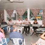 2001-02-16. CONSEJO DIRECTIVO. CARCARAÑA Norberto Ponisio, Julio Rayón, Rosana Giraudi, Darío Astegiano, Esteban De Lorenzi, Olga Nazor y Amelia Decándido