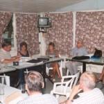 2001-02-16. CONSEJO DIRECTIVO. CARCARAÑA. Dario Astegiano, Esteban De Lorenzi, Olga Nazor, Amelia Decándido y Aurelio Genovese.