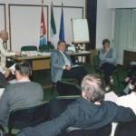 2001-04-27. CONSEJO DIRECTIVO. EL TREBOL. Darío Astegiano, Esteban De Lorenzi, Olga Nazor, Rosana Giraudi y consejeros participantes.