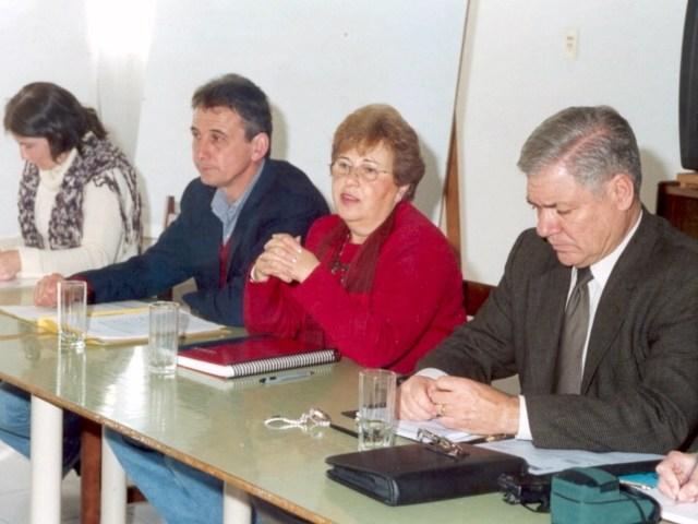 2003-08-16. CONSEJO DIRECTIVO. RECONQUISTA. Giraudi, Avarucci, Vacau y De Lorenzi.