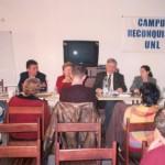 2003-08-16. CONSEJO DIRECTIVO. RECONQUISTA. Rosana Giraudi, Francisco Avarucci, Mirta Vacau, Esteban De Lorenzi, Soledad Rosso y Julio Rayón.