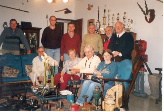 2003-08-17. MUSEO RODRIGO. CALCHAQUI. T. Buratovich, G. Ostojic, F. Avarucci, E. De Lorenzi, A. Rodrigo, D. Astegiano, Rogelio Malpiedi, Y. de Galliano, N. Ponisio y R. Giraudi.
