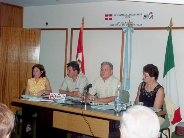 2003-05-10. CONCEJO DIRECTIVO. Giraudi, Avarucci, De Lorenzi y Guelbert.