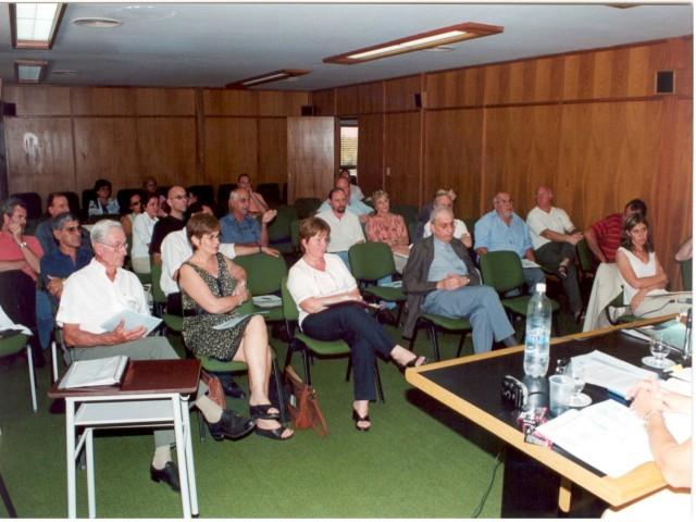 2004-03-27. ASAMBLEA. EL TREBOL. Delegados participantes.