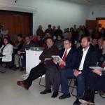 2005-07-15. MUSEO BELLAS ARTES. RAFAELA. A. Castilla (Director M. y P. de la Sec. de Cultura de la Nac.), R. Bertone (Sec. de Cultura de Sta. Fe), O. Perotti (Int. de Rafaela) y E. De Lorenzi.