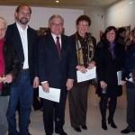 2005-07-17. MUSEO BELLAS ARTES. RAFAELA. Juan C. Deambroggio, Omar Perotti, Esteban De Lorenzi, Eva G. de Rosenthal, Gabriela Culzoni y Raúl Bertone.
