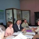 """2006-04-20. REGIONAL NORTE """"A"""". RAFAELA. Reunión presidida por Sergio Capovilla."""