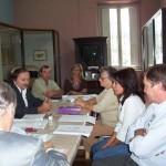 """2006-04-20. REGIONAL NORTE """"A"""". RAFAELA. Reunión presidida por el Sergio Capovilla."""