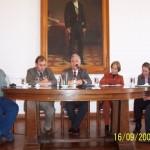 2006-09-16. CONSEJO DIRECTIVO. ESPERANZA. M. Zaeta, Rodrigo Müller (Secretario de Cultura Nunicipal), E. De Lorenzi, Ana M. Cecchini (Subsecret. de Cult. Pcial), G. Russi y A. Rodrigo