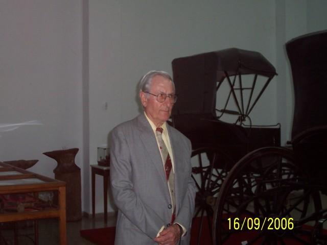 2006-09-16. MUSEO DE LA COLONIZACION. ESPERANZA. Visita Museo. Norberto Ponisio