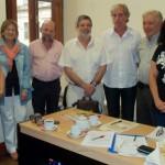 2012.01.11 - Reunión Minist. Cultura.  Sec. Cantini. Dir. Museos Magnin y Aut. Asociación