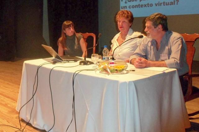 11 - Panel sobre El Ojeto. Savino, Rosenthal y Rayón