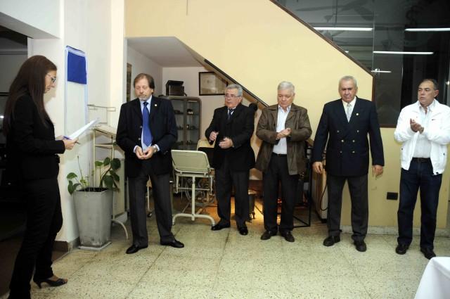 2013-03-16 - HOMENAJE DR. HAIEK. PALABRAS INICIO PROF. LADMAN. MUSEO MEDICO STA. FE